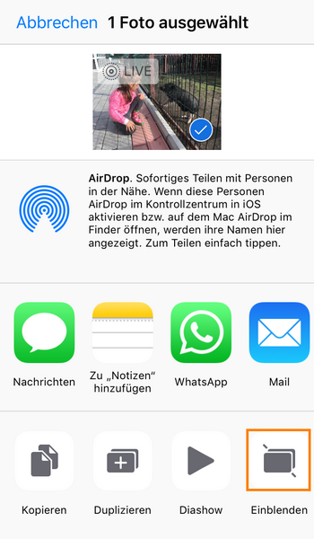 iPhone Fotos verschwunden