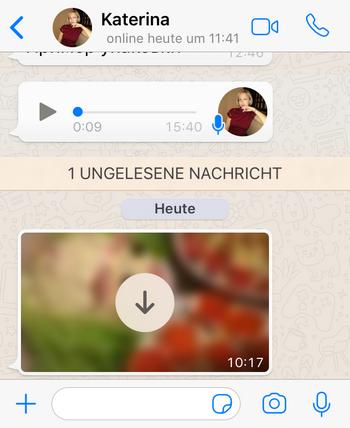 WhatsApp Bilder nicht speichern