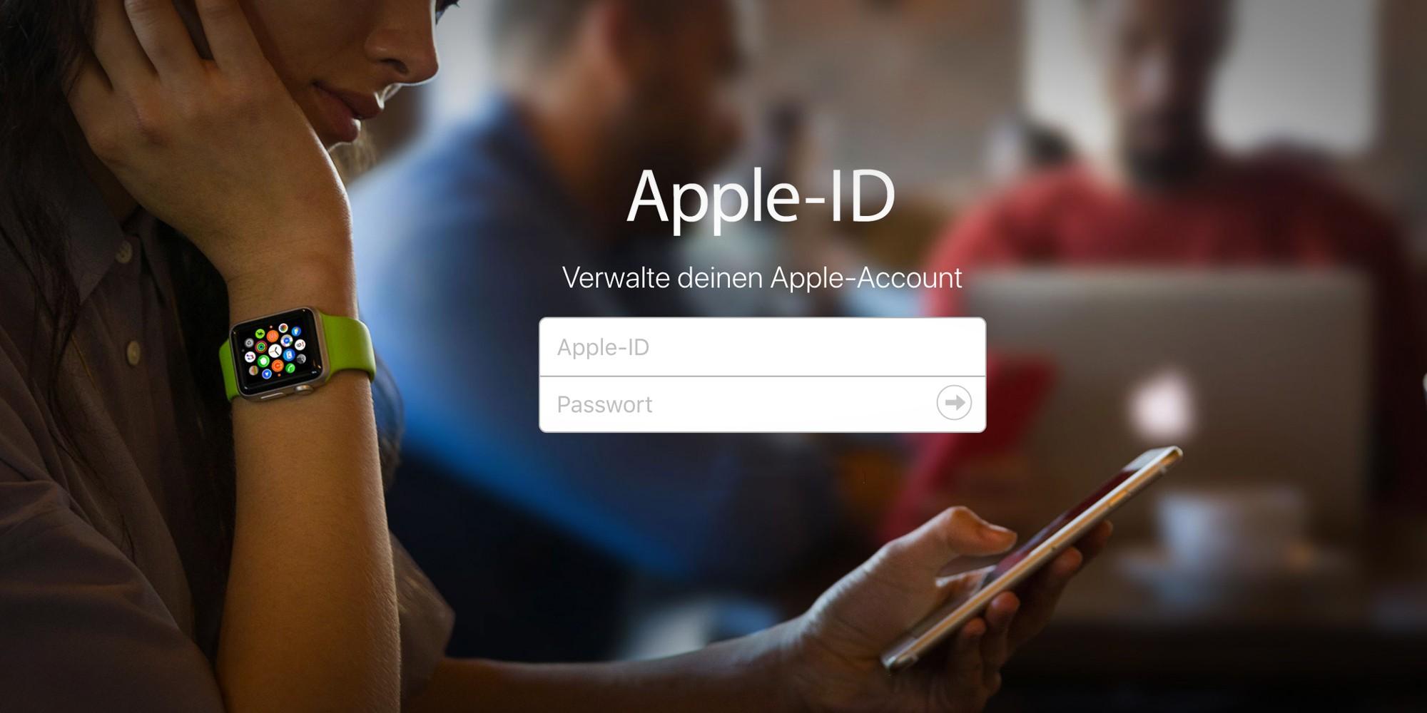Apple ID ändern