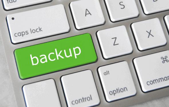 Backup am PC finden