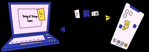 Dateien zwischen iPhone und PC übertragen