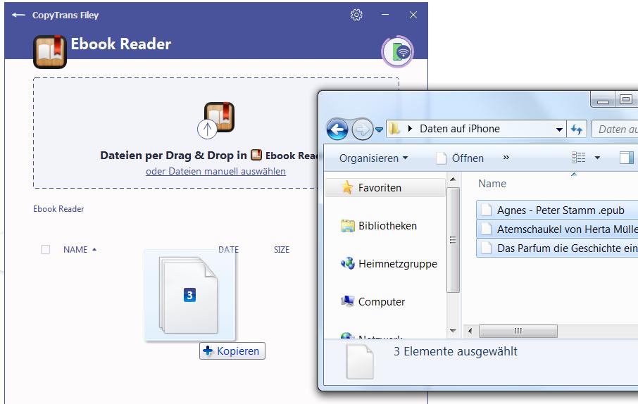 ePub auf iPad
