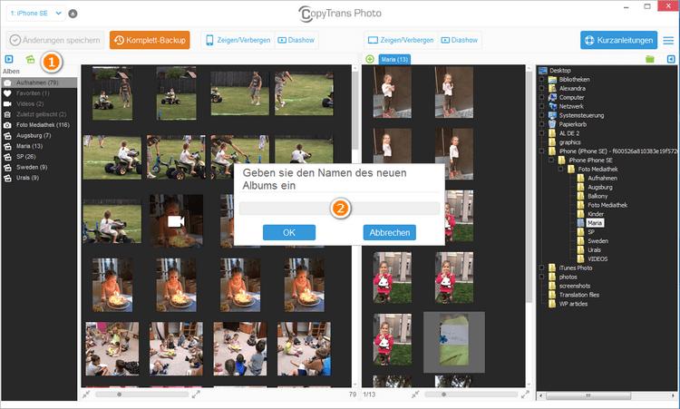 Videos auf iPad übertragen