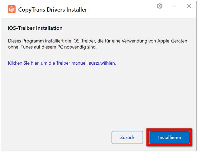 Download CopyTrans Drivers iIstaller