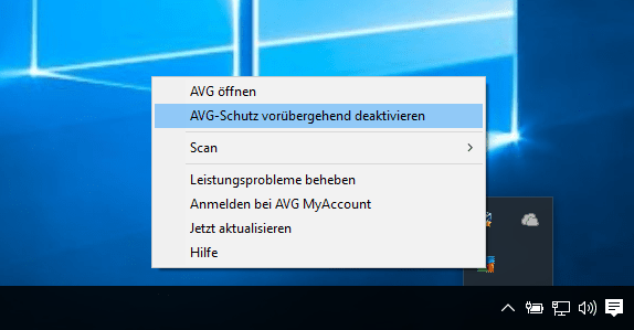 Bei CopyTrans Themida Debugger Fehlermeldung sollen Sie Ihr Antivirus-Programm deaktivieren