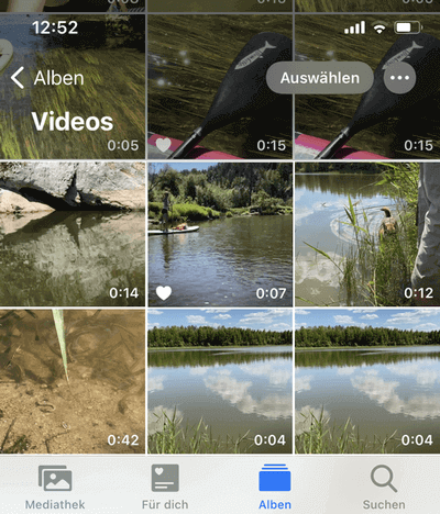 Videos von iPhone auf PC anschauen