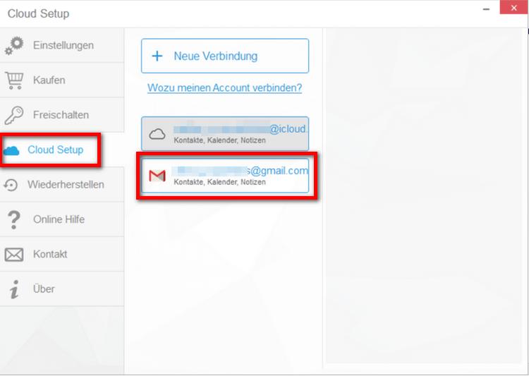 iPhone Notizen Gmail Verbindung herstellen