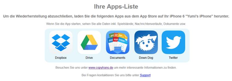 Apps auf anderes Handy übertragen