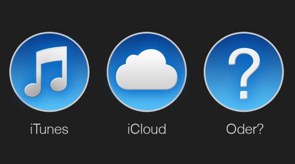 iTunes vs iCloud