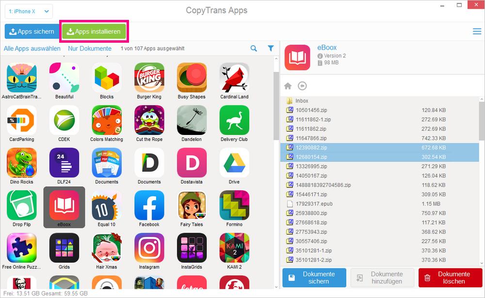 iPhone Apps installieren ohne App Store