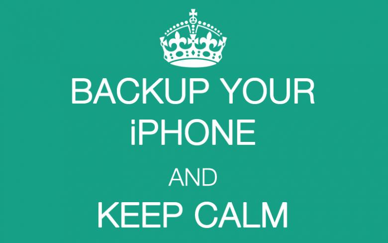 iPhone sichern und Ruhe bewahren