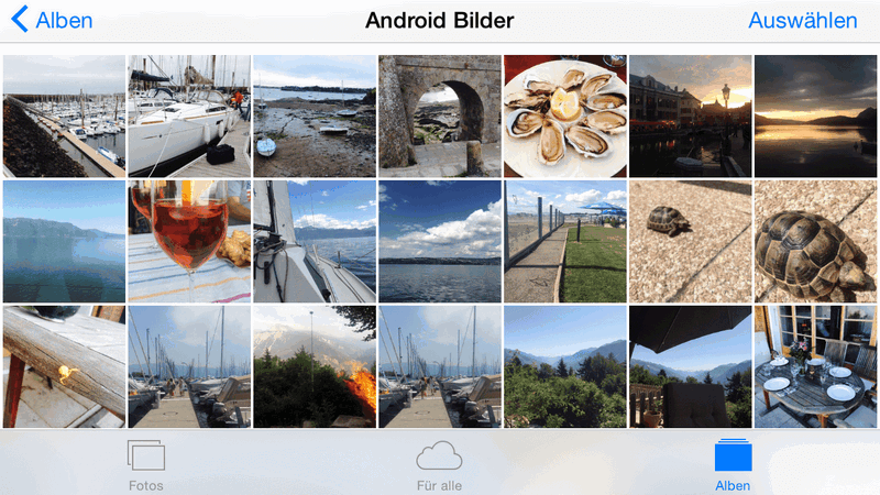 iOS Bilder ohne iTunes verwalten
