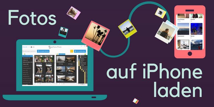 PC Fotos auf iPhone importieren ohne iTunes
