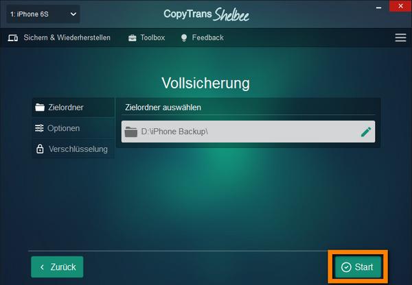 iPhone Sicherung ohne iTunes erstellen