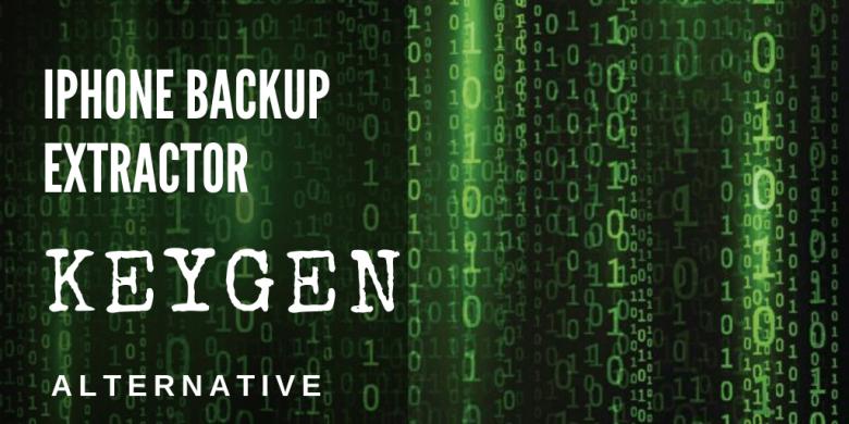 Backup Extractor Keygen