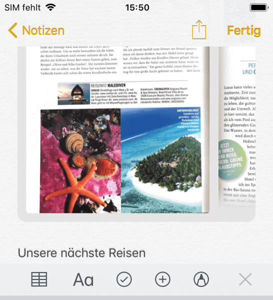 Bilder als pdf speichern