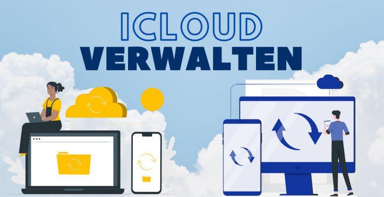 iCloud Daten verwalten