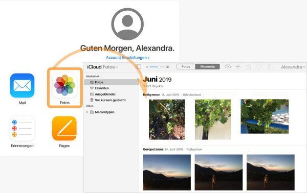 iCloud auf PC
