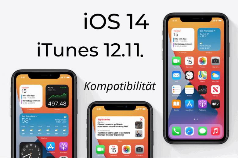 iOS 14 iTunes 12.11