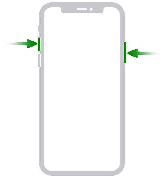 Screenshot iPhone 11