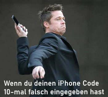 iPhone Passwort vergessen: die Lösung