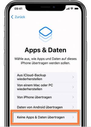 iPhone wurde deaktiviert - wiederherstellen ohne Daten