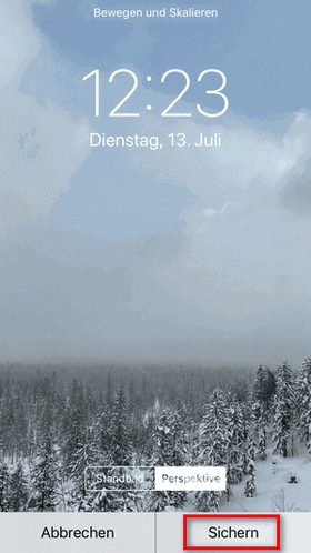 Live Photo iPhone als Hintergrund erstellen