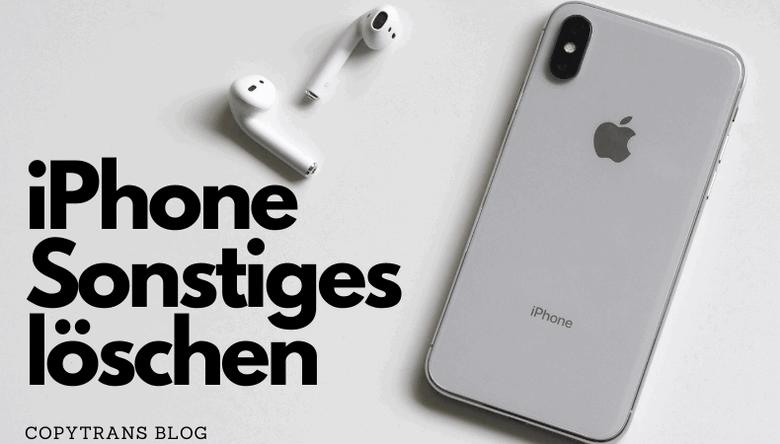 iPhone Sonstiges löschen